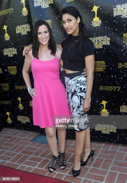 Jennifer Muro and Janina Gavankar attend the 43rd Annual Saturn Awards at The Castaway on June 28 2017 in Burbank California