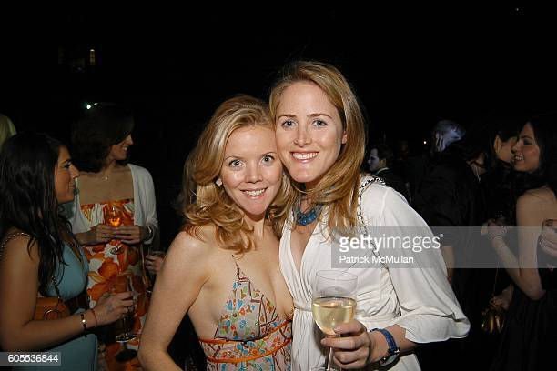 Jennifer Murray and Kate Meckler attend The Central Park Zoo hosts the WILDLIFE CONSERVATION SAFARI 2006 Anniversary of the American Bison Society at...