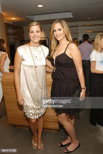 Jennifer Nehme and Kristin Eberts attend Opening of AURA hosted by Kristin Eberts and Amy Smart at Los Angeles on August 16 2006