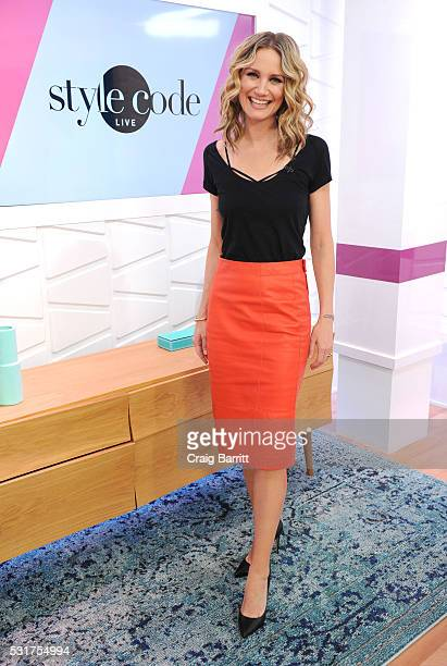 Jennifer Nettles appears on Amazon's Style Code Live on May 16 2016 in New York City