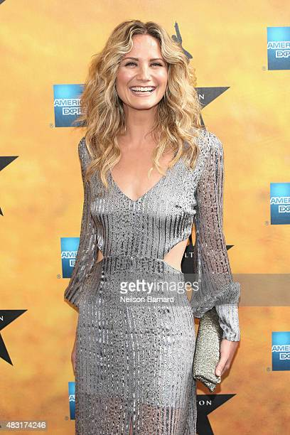 Jennifer Nettles attends Hamilton Broadway Opening Night at Richard Rodgers Theatre on August 6 2015 in New York City