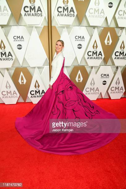 Jennifer Nettles attends the 53rd annual CMA Awards at the Music City Center on November 13, 2019 in Nashville, Tennessee.
