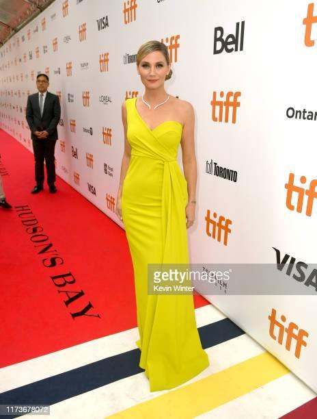 Jennifer Nettles attends the Harriet premiere during the 2019 Toronto International Film Festival at Roy Thomson Hall on September 10 2019 in Toronto...