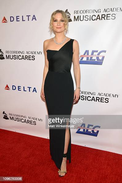 Jennifer Nettles of Sugarland attends MusiCares Person of ...