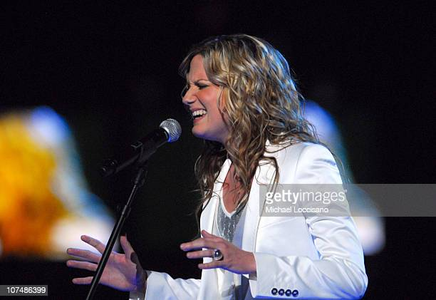 """Jennifer Nettles of Sugarland performs """"Stay"""" during 2007 CMT Music Awards - Show at The Curb Event Center at Belmont University in Nashville,..."""