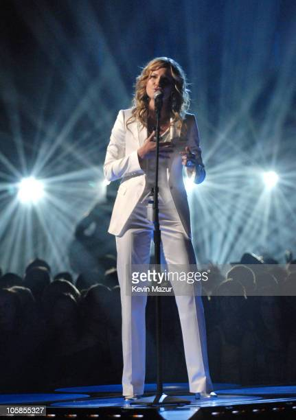 """Jennifer Nettles of Suglarland performs """"Stay"""" during 2007 CMT Music Awards - Show at The Curb Event Center at Belmont University in Nashville,..."""