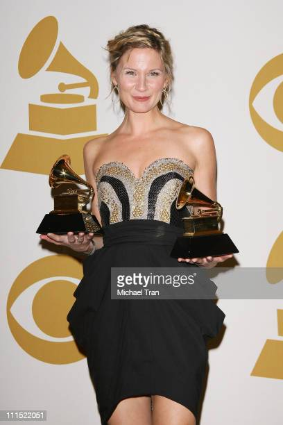 Jennifer Nettles of the band Sugarland, winner of two awards; Best Country Performance By A Duo of Group With Vocals and Best Country Song for 'Stay'...