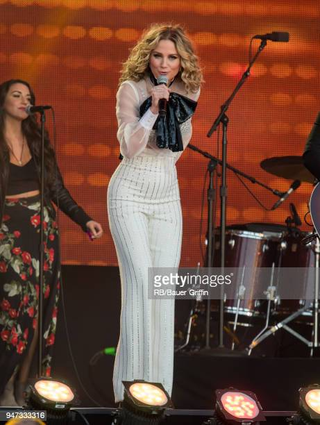 Jennifer Nettles of the country duo 'Sugarland' is seen at 'Jimmy Kimmel Live' on April 16 2018 in Los Angeles California