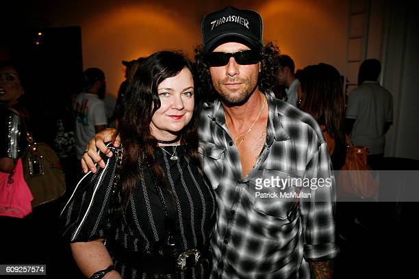 Jennifer Nicholson and Raif Adelberg attend RICHARD KIDD Presents BOILING DOWN THE 80's Opening Reception at Dactyl on July 19 2007 in New York City