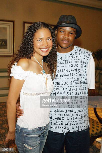 Jennifer Nicole Freeman and Goerge O Gore ll 'My Wife and Kids' at the ABC Network's TCA Summer Press Tour at the RitzCarlton Hotel in Pasadena Ca...