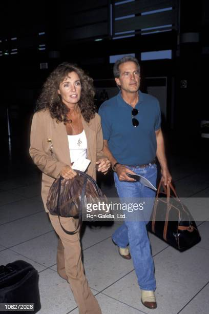 Jennifer O'Neill and guest during Jennifer O'Neill Sighted at Los Angeles International Airport May 8 1993 at Los Angeles International Airport in...