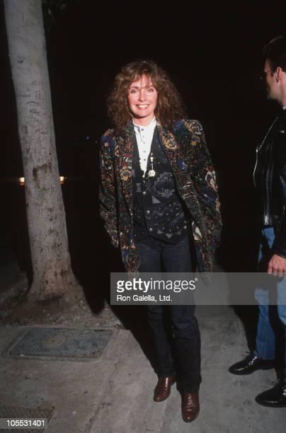 Jennifer O'Neill during Jennifer O'Neill Sighted at Asylum Restaurant March 8 1991 at Asylum Restaurant in Beverly Hills California United States