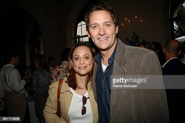Jennifer Paley and Michael Couper attend Michael Lynton and Jamie Alter and David Kuhn Celebrate the Publication of Abigail Pogrebin's Book 'Stars of...