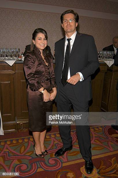 Jennifer Pellegrino and Gilles Rousseau attend CRT's Cancer Survivors Hall of Fame Dinner Dance at The Hilton NYC on November 2 2006