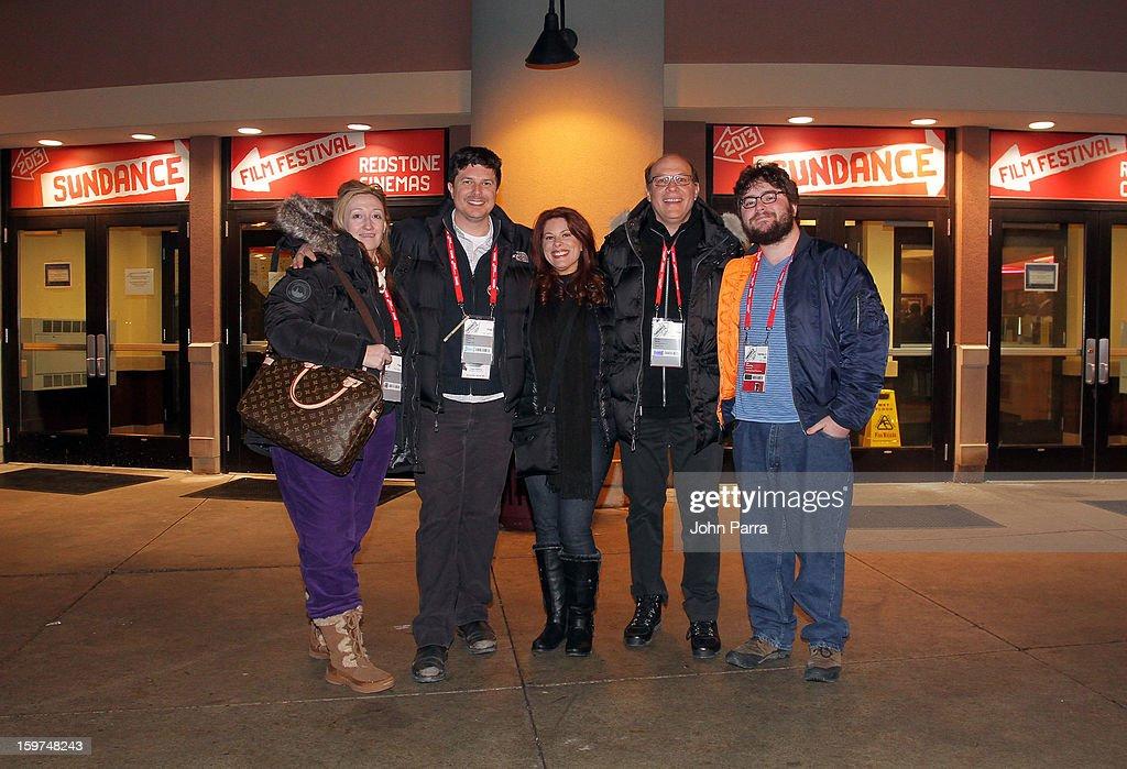 Jennifer Pelphrey, Kent Osborne, Abe Groening, Kelly Crews and Brian Miller attend Adventure Time at Sundance at Redstone Cinema 1 at Kimball Junction on January 19, 2013 in Park City, Utah. (Photo by John Parra/WireImage) 23186_001_JP_0026.JPG