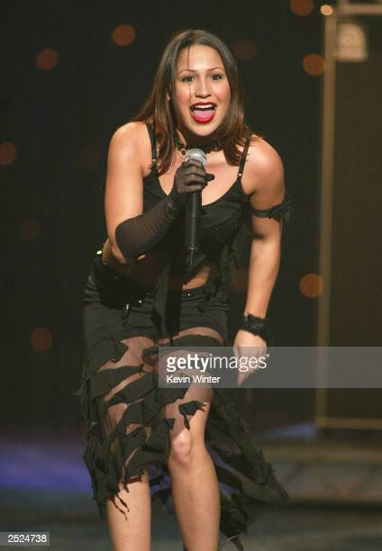 Jennifer Pena at the 2002 Ritmo Latino Music Awards at the Kodak Theatre in Hollywood Ca Friday Oct 25 2002 Photo by Kevin Winter/Getty Images