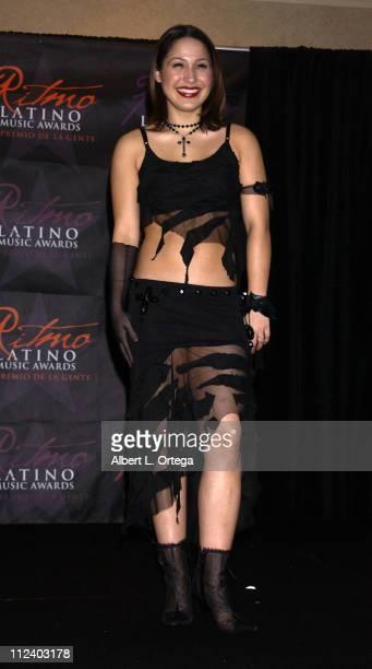 Jennifer Pena during 2002 Ritmo Latino Music Awards El Premio de la Gente at Kodak Theatre in Hollywood California United States