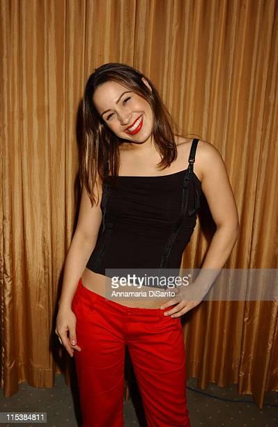Jennifer Pena during 5th Annual El Premio de la Gente Latin Music Fan Awards 2003 Nominations in Beverly Hills California United States
