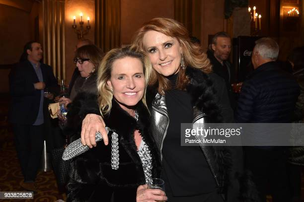 Jennifer Post and Ann Cutbill Lenane attend Love Rocks NYC VIP Rehearsal Cocktail at Beacon Theatre on March 14 2018 in New York City Jennifer...