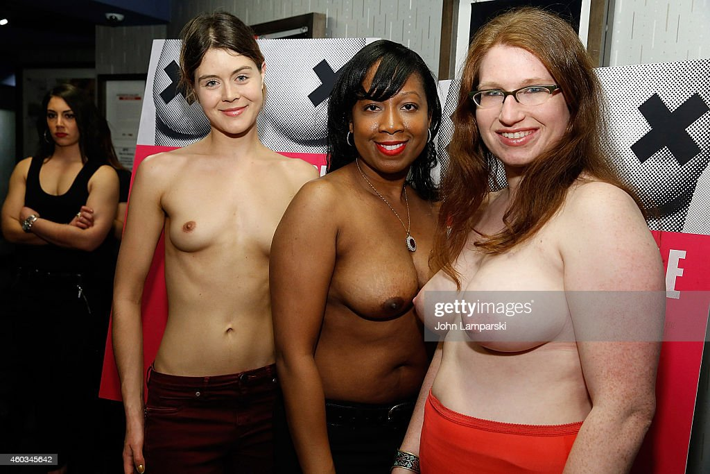 'Free The Nipple' New York Premiere : News Photo
