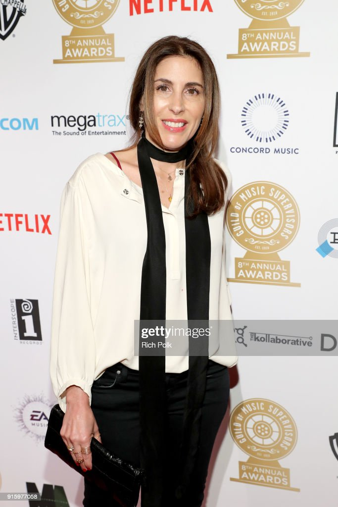 8th Annual Guild of Music Supervisors Awards : News Photo