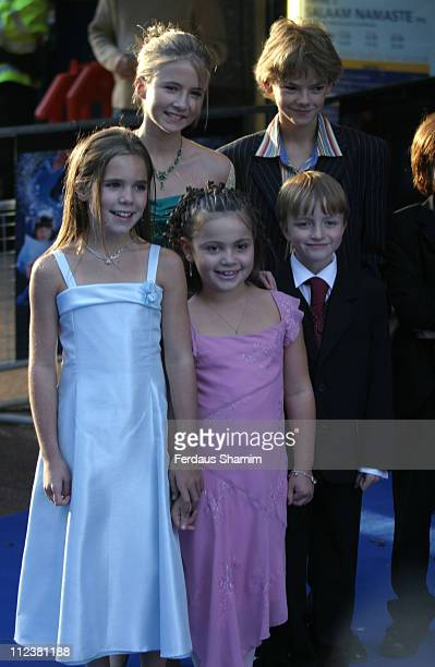 Jennifer Rae Daykin Eliza Bennet Raphael Coleman Sam Honywood and Holly Gibbs