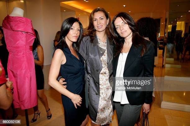 Jennifer Raines Inga Rubenstein and Yana Balan attend VALENTINO Fall/Winter 2009 Capsule Collection Preview Luncheon hosted by SERENA BOARDMAN DORI...