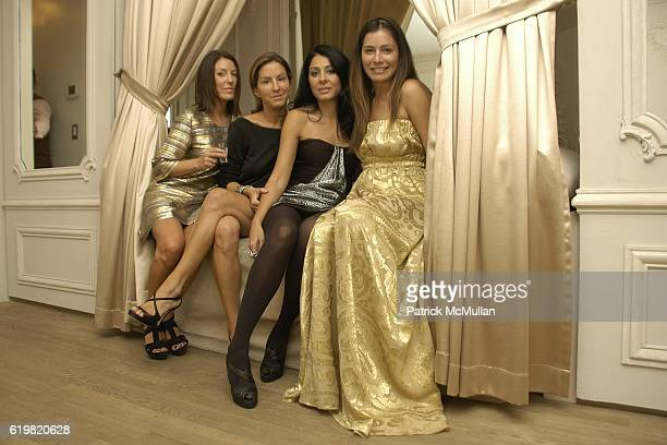 Jennifer Raines Liz CohenHausman Aida Khoursheed and Renata Martins attend Grand Opening of Jay Ahr at 801 Madison Ave on October 15 2008 in New York...