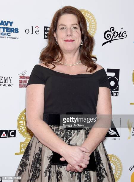 Jennifer Reeve attends the 9th Annual Guild Of Music Supervisors Awards at The Theatre at Ace Hotel on February 13 2019 in Los Angeles California