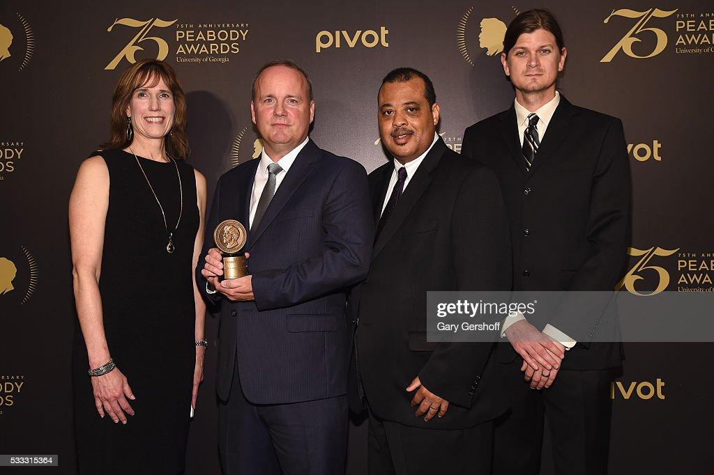 The 75th Annual Peabody Awards Ceremony - Press Room : News Photo