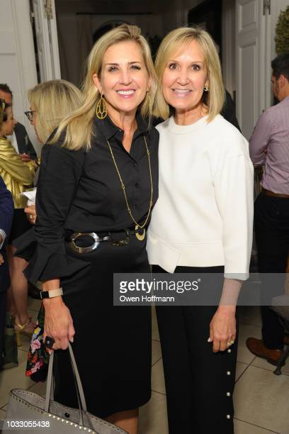 Jennifer Robinson and Tracy Bradford attends NEST Fragrances 10 Year Anniversary on September 13 2018 in New York City