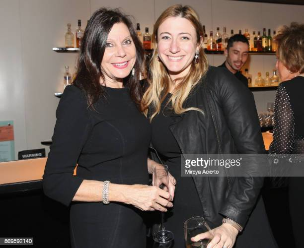Jennifer Ross and Nancy Ross attend Global NonProfit Beyond Type 1 and Emporio Armani's Notte al Casino at Armani 5th Avenue in NYC Benefitting Type...
