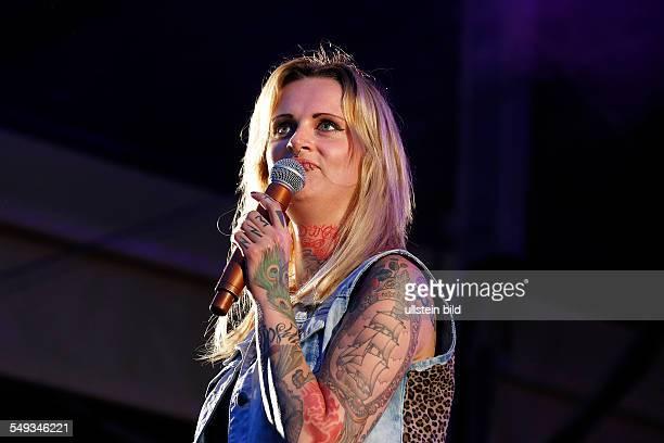 Jennifer Rostock, Rock Band, GER, Singer Jennifer Weist performing in Berlin, Germany
