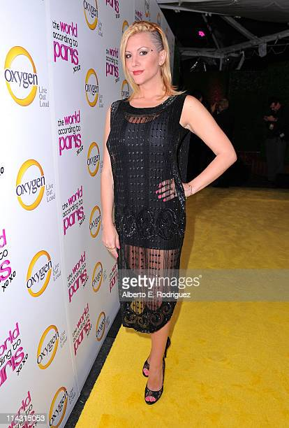 Jennifer Rovero arrives at premiere of Oxygen's New DocuSeries The World According To Paris at Tropicana Bar at The Hollywood Roosevelt on May 17...