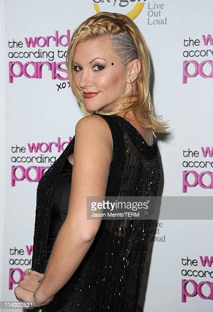 Jennifer Rovero arrives at the premiere of Oxygen's new docuseries The World According to Paris at Tropicana Bar at The Hollywood Roosevelt Hotel on...