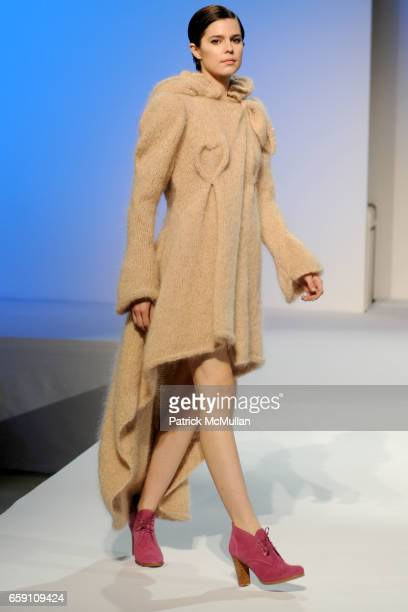 Jennifer Rubin Collection attends Parsons 2009 Fashion Benefit Honoring Calvin Klein's Tom Murry and Francisco Costa at Cipriani Wall Street on April...