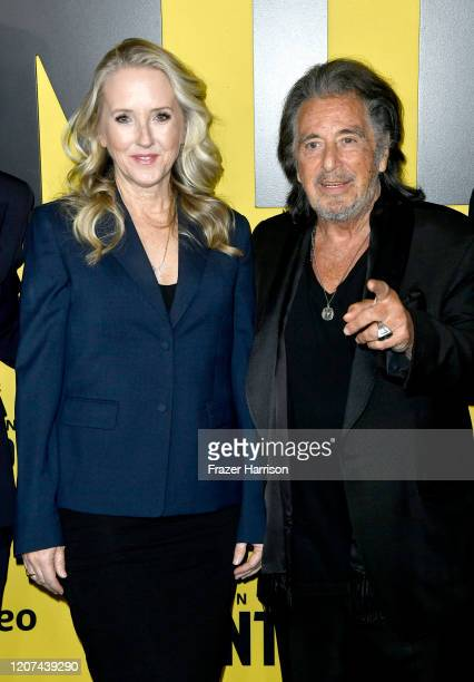 Jennifer Salke and Al Pacino attends the Premiere Of Amazon Prime Video's Hunters at DGA Theater on February 19 2020 in Los Angeles California