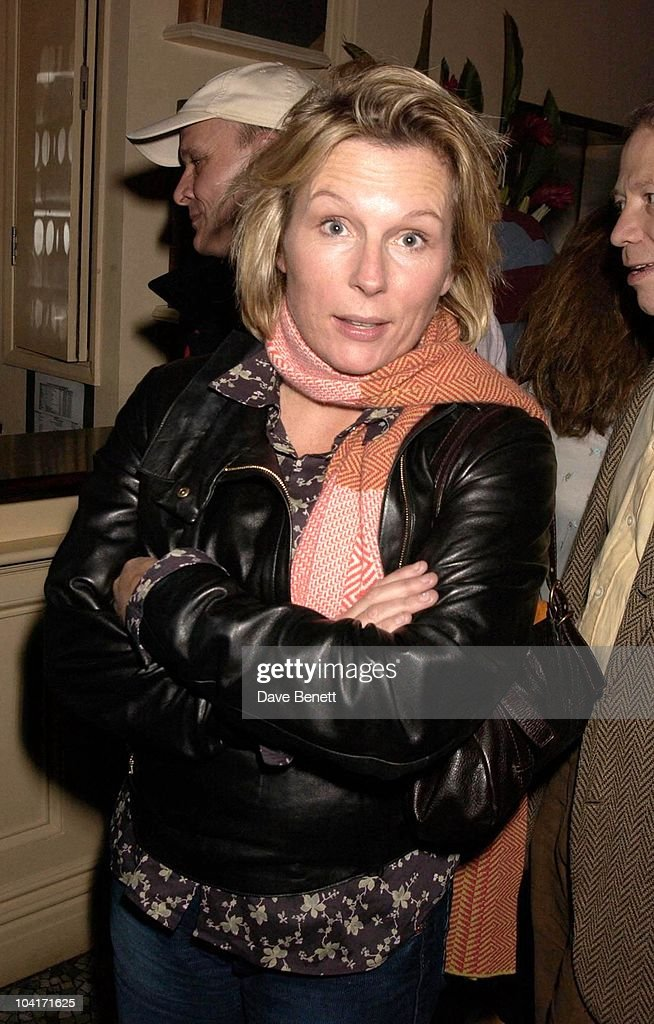Jennifer Saunders, After Party For Lenny Henry S First Night, At Browns In St Martins Lane, London