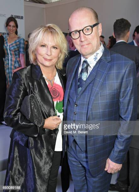 Jennifer Saunders and Ade Edmondson attend the Glamour Women of The Year Awards 2017 in Berkeley Square Gardens on June 6 2017 in London England