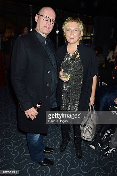 Jennifer Saunders and Adrian Edmondson attend the afterparty for the press night of Jesus Christ Superstar the arena tour at The O2 Arena on...