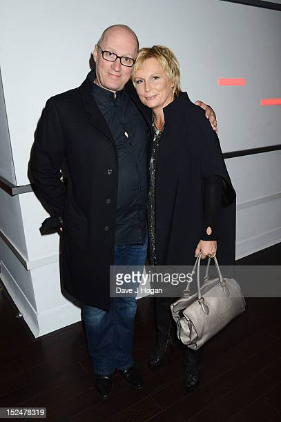 Jennifer Saunders and Adrian Edmondson attend the press night for Jesus Christ Superstar the arena tour at The O2 Arena on September 21 2012 in...