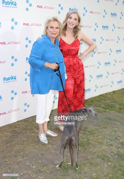 Jennifer Saunders and Beattie Edmondson attend the UK premeire of 'Patrick' at on June 27 2018 in London England