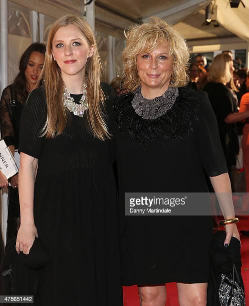 Jennifer Saunders and daughter Freya Edmondson attends the Glamour Women Of The Year Awards at Berkeley Square Gardens on June 2, 2015 in London,...