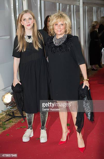Jennifer Saunders and Freya Edmondson attend the Glamour Women of the Year Awards at Berkeley Square Gardens on June 2, 2015 in London, England.