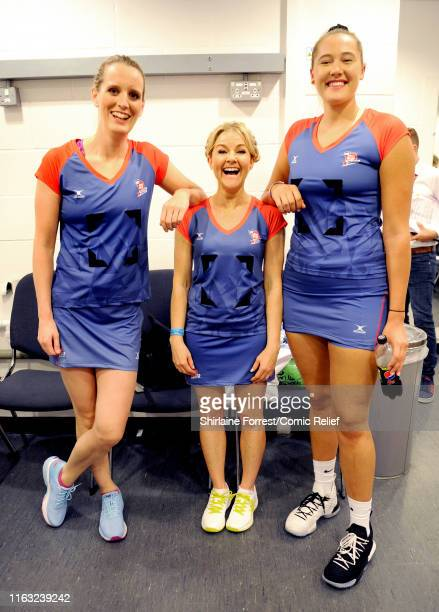 Jennifer Saunders and Oti Mabuse take to the court captaining teams of celebrities and sporting legends for the first ever 'All Star Netball for...