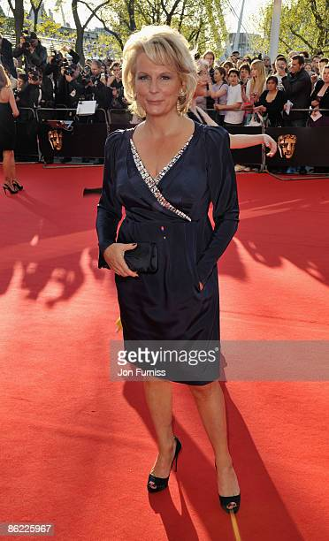 Jennifer Saunders arrives at the British Academy Television Awards held at The Royal Festival Hall on April 26 2009 in London England