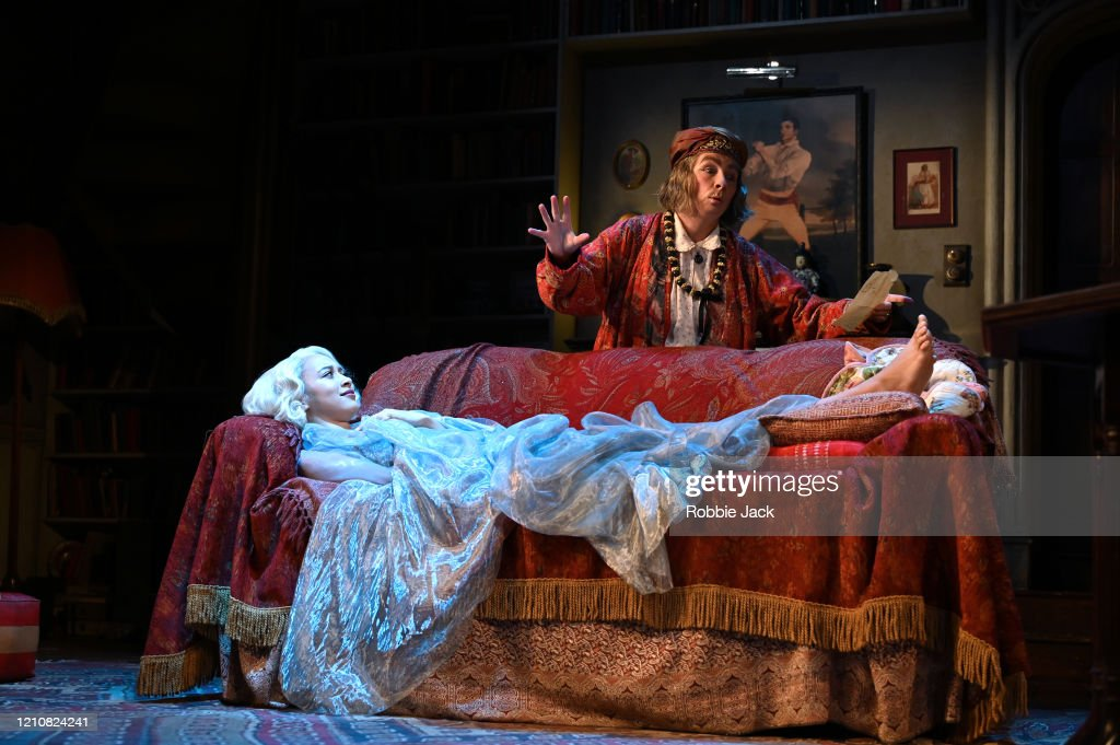 "Noel Coward's ""Blithe Spirit"" At The Duke Of York's Theatre : News Photo"