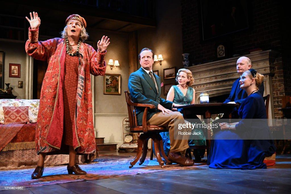 """Noel Coward's """"Blithe Spirit"""" At The Duke Of York's Theatre : News Photo"""