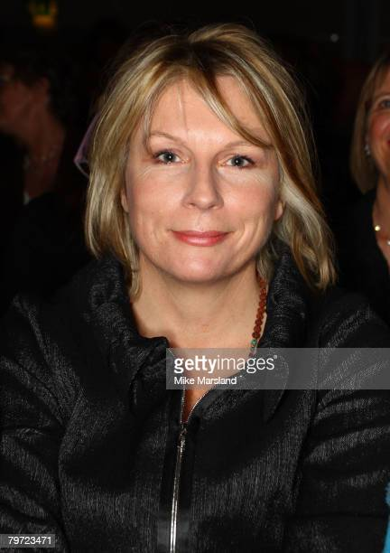 Jennifer Saunders at the Betty Jackson Runway show part of London Fashion Week A/W 2008/09 at the Natural History Museum on February 12 2008 in...
