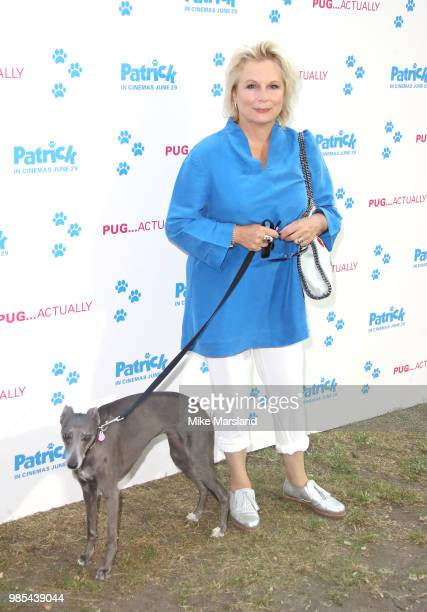 Jennifer Saunders attends the UK premeire of 'Patrick' at on June 27 2018 in London England